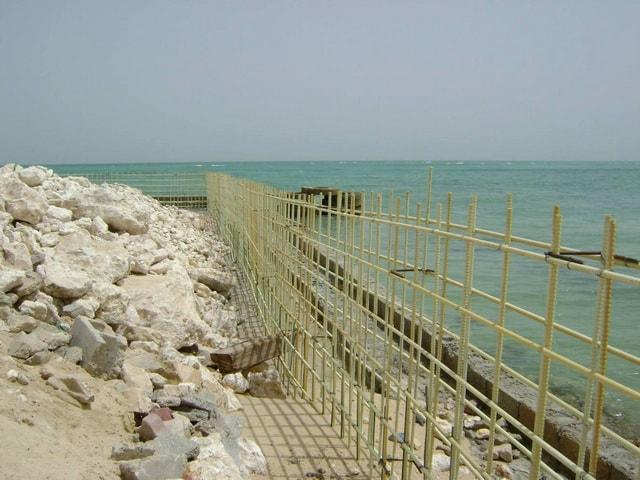Купить композитную стеклопластиковую арматуру для строительства бассейнов и береговых укреплений по ценам производителя